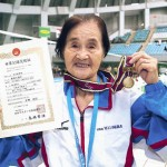 100歳の現役スイマー1500m完泳!
