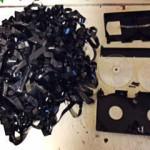 【ビデオテープ】案外知られていない?ビデオテーブの処分・分別の仕方。