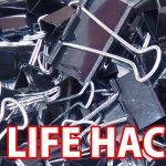 100均のダブルクリップでできる15のコト/15 Life Hack things do with binder clip/まとめライフハック動画/バインダークリップ