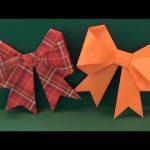 """「リボン」折り紙""""Ribbon"""" origami"""