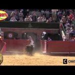 スペイン祭で闘牛2015年ベスト面白い動画